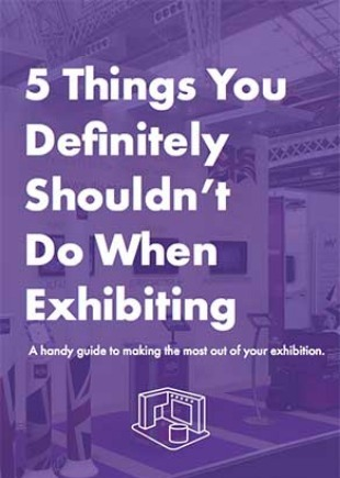Check out our helpful guide - 5 handy tips to avoid disappointment when exhibiting.