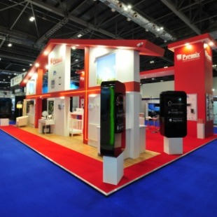 Exhibiting stands for the Security & infrastructure industry