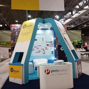 Exhibition stands for the E-commerce industry