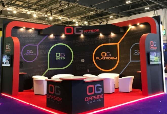 Gaming and Gambling exhibition stands supporting mobile image