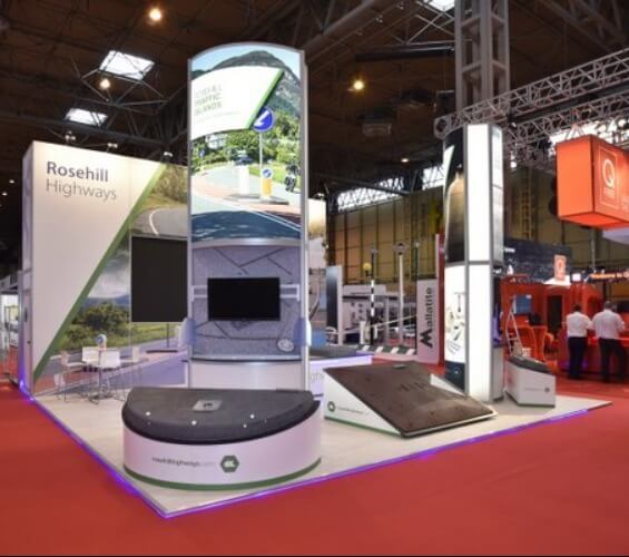 Rail and Transport exhibition stands left supporting image