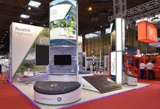 Rail and Transport exhibition stands supporting mobile image