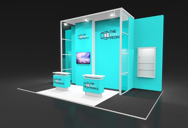 Exhibiting for the dental industry supporting mobile image