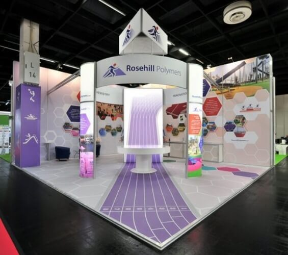 Rail and Transport exhibition stands right supporting image