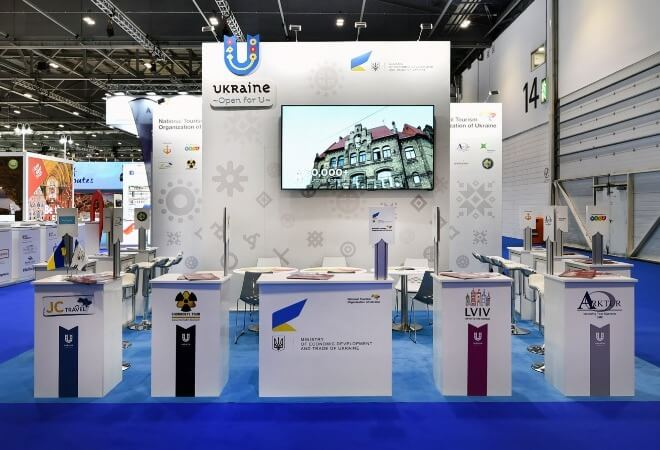 Exhibition for National Pavilions supporting mobile image