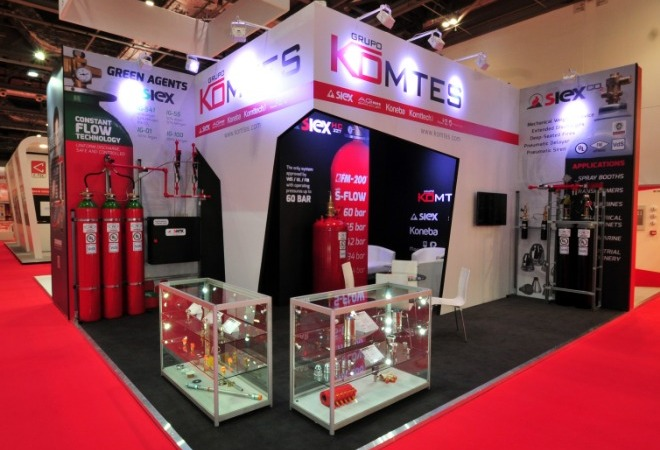 Bespoke Exhibition Stands supporting mobile image