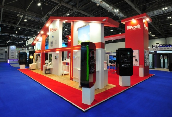 Our Bespoke Exhibition Stand Services supporting mobile image
