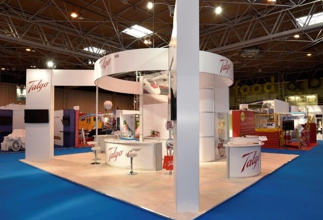 Modular Exhibition Stands supporting mobile image