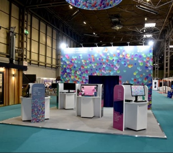 Bespoke Exhibition Stands left supporting image
