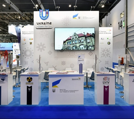 Modular Exhibition Stands left supporting image